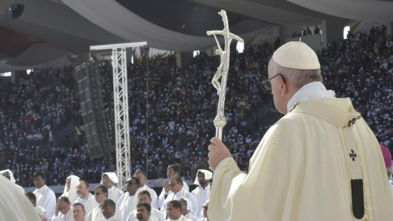 Homily of Pope Francis on last day in Abu Dhabi
