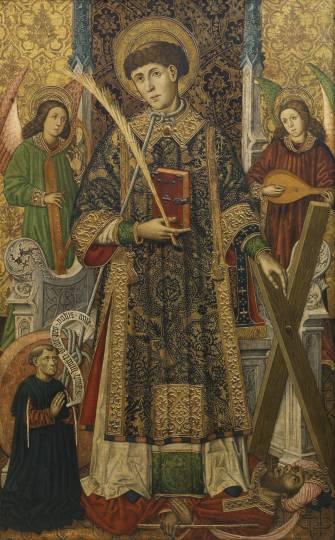 Vicente de Zaragoza by Tomás Giner