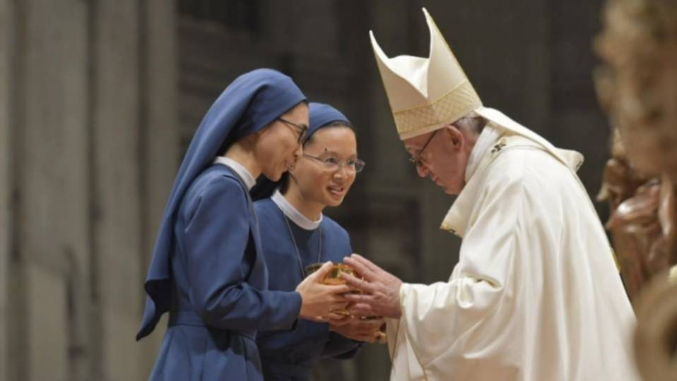 Pope Francis' Homily for the Feast of the Presentation of the Lord and23rd World Day for ConsecratedLife