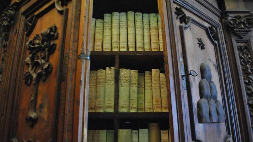 A cabinet in the Vatican Secret Archives (CNS photo/Vatican Secret Archives)