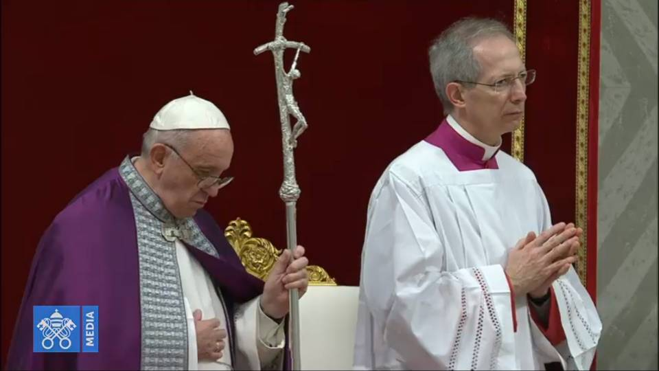 Pope Francis' homily at Penance Service