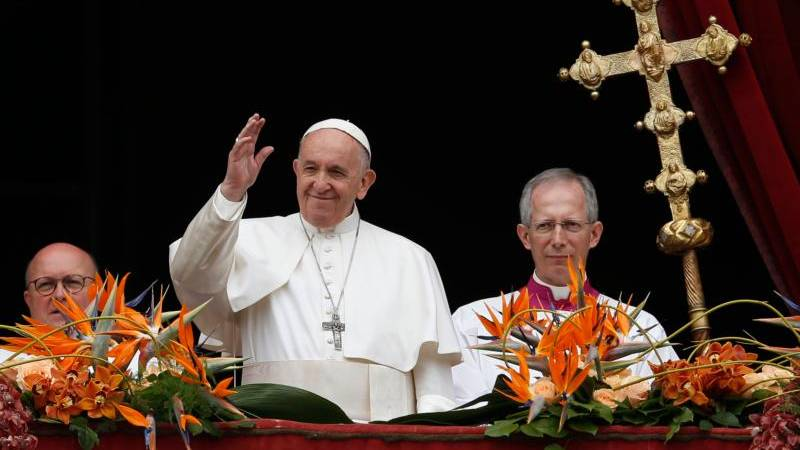 Pope Francis' Urbi et Orbi message for Easter Sunday