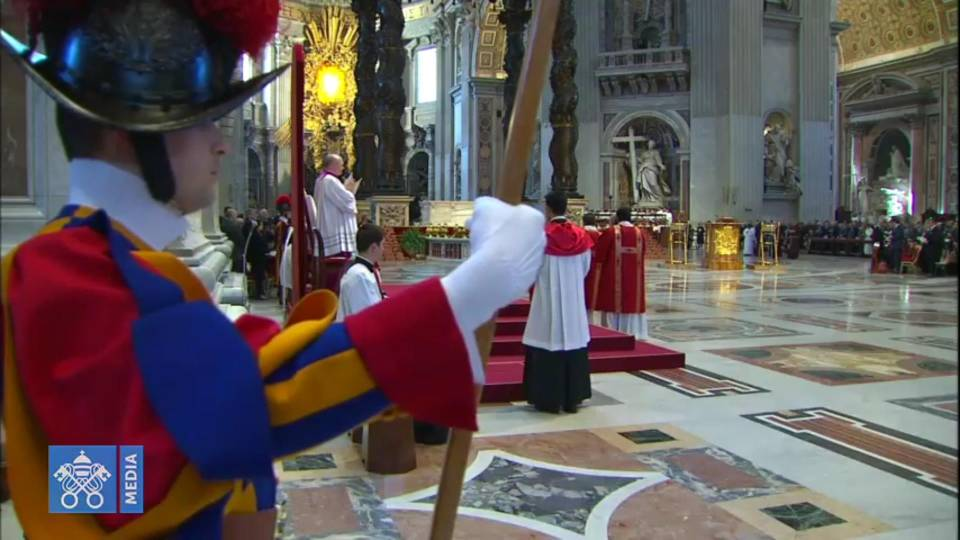 Good Friday homily from St. Peter's Basilica