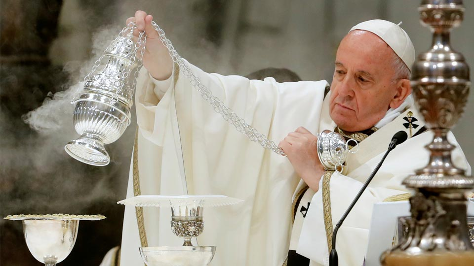 Pope Francis' Holy Thursday Chrism Mass homily