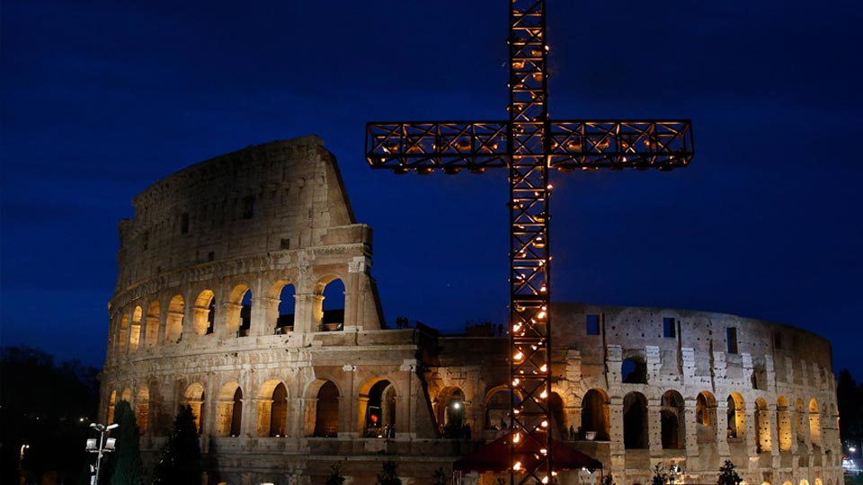 Good Friday Way of the Cross Led by Pope Francis
