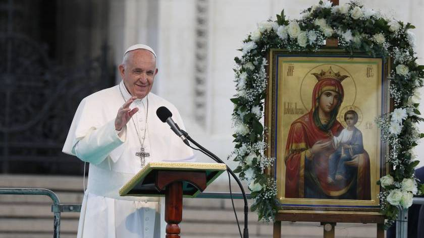 Regina Caeli address of Pope Francis in Sofia