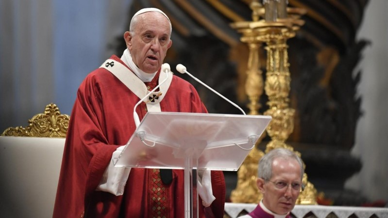 Pope Francis' homily for the Solemnity of SS. Peter and Paul 2019