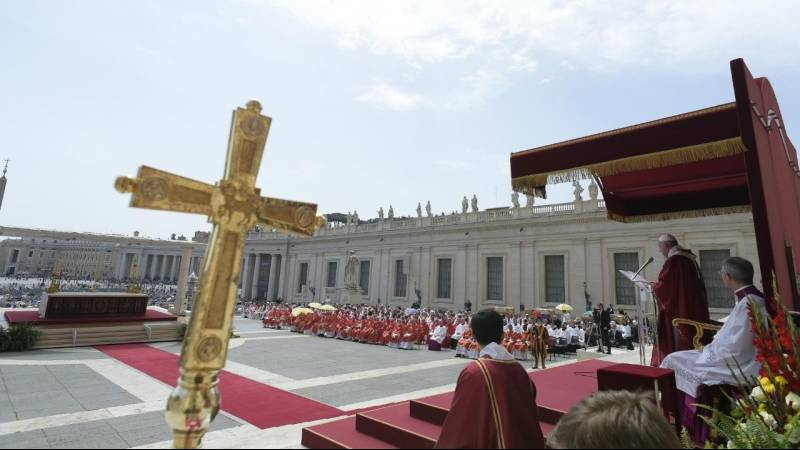 Pope Francis' homily for Pentecost Sunday 2019