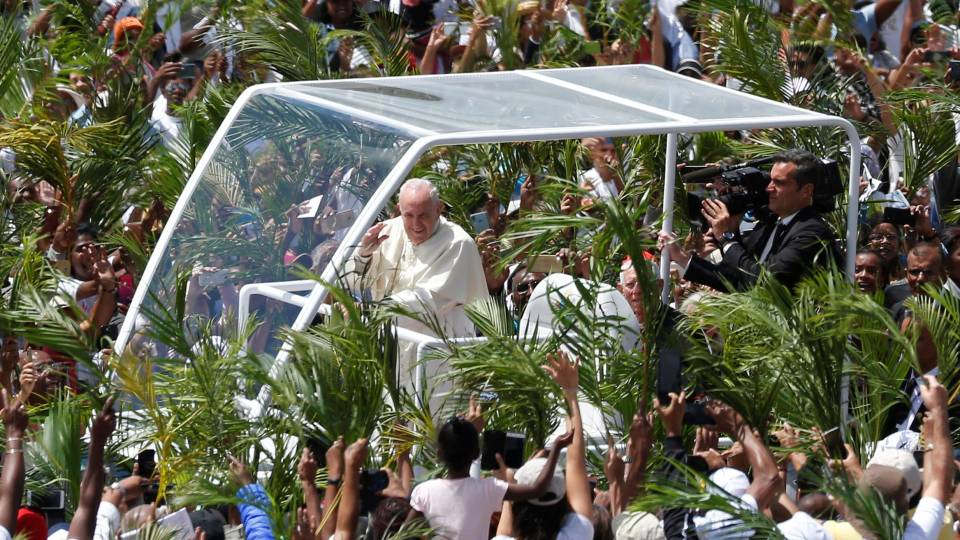 Pope in Mauritius: Homily of Pope Francis at Mass in Port Louis