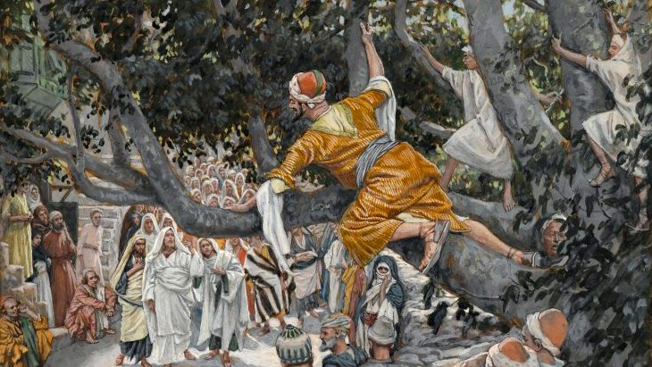 """Quick, come down!"" A reflection on the life-changing encounter of Jesus and Zacchaeus"