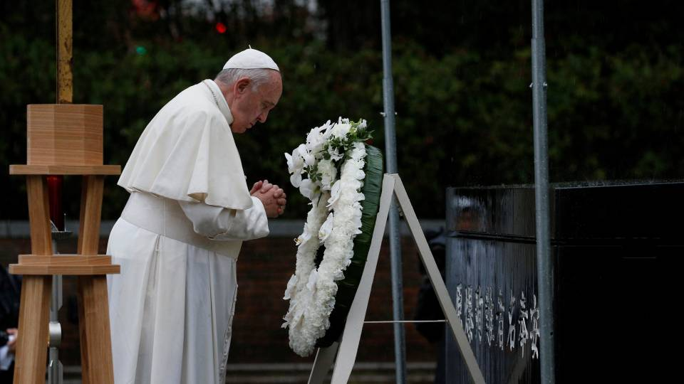 Pope in Japan: Message on nuclear weapons