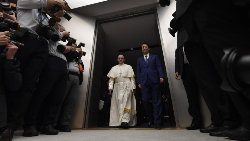 Pope in Japan: Address to authorities and the diplomatic corps
