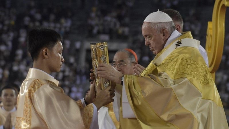 Pope in Thailand: Homily at Mass in Bangkok's National Stadium