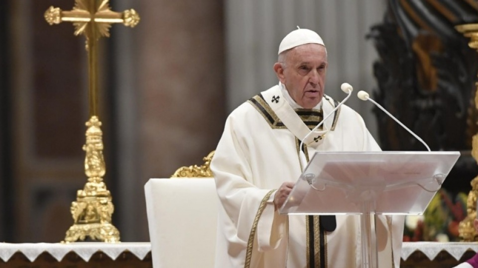 Pope Francis' Homily for the Solemnity of the Nativity of the Lord