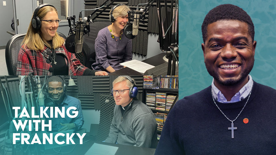 Podcast: Talking with Francky – Loving and serving in all things through the Ignatian Spirituality Project