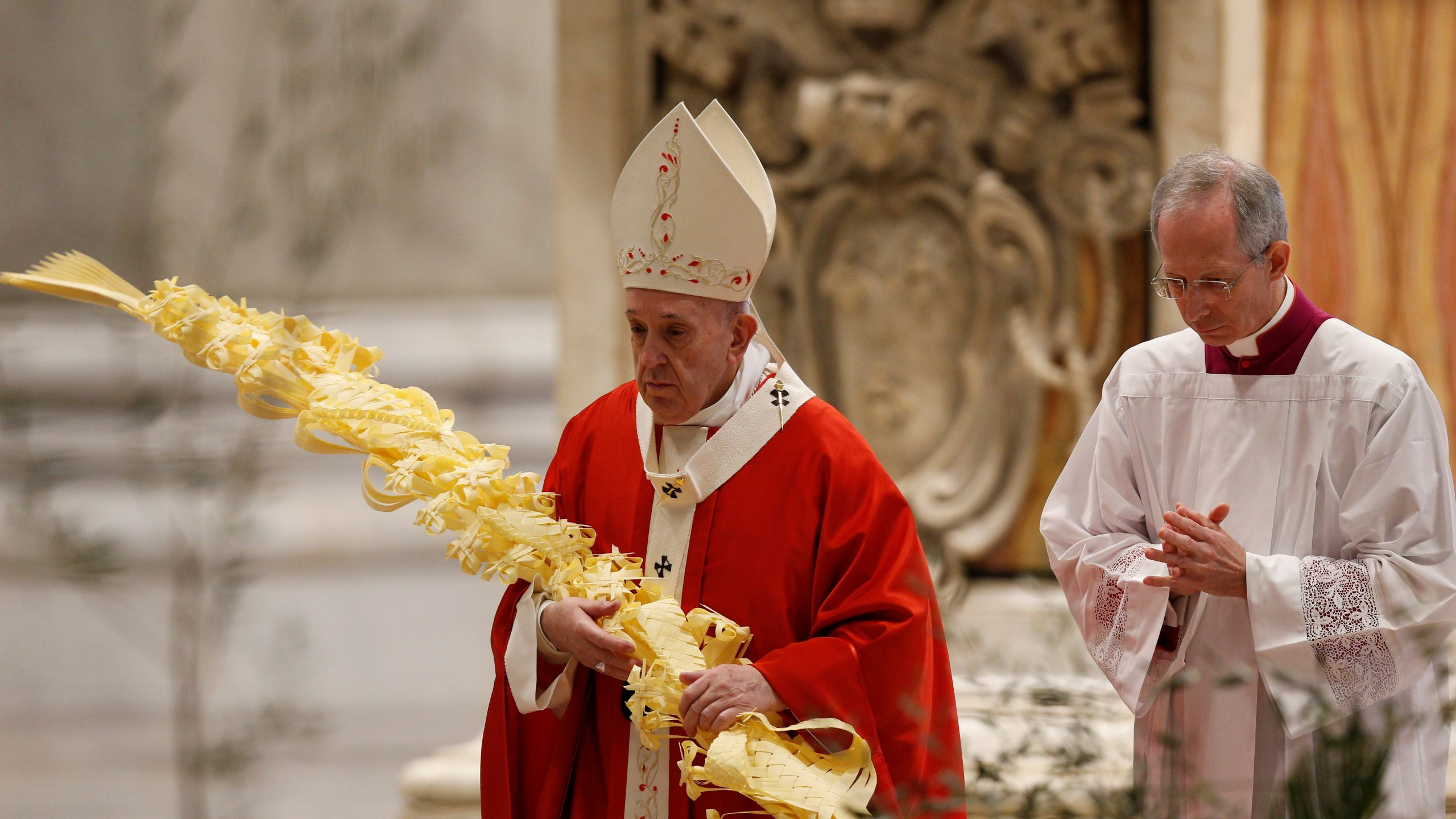 Pope Francis' homily for Palm Sunday