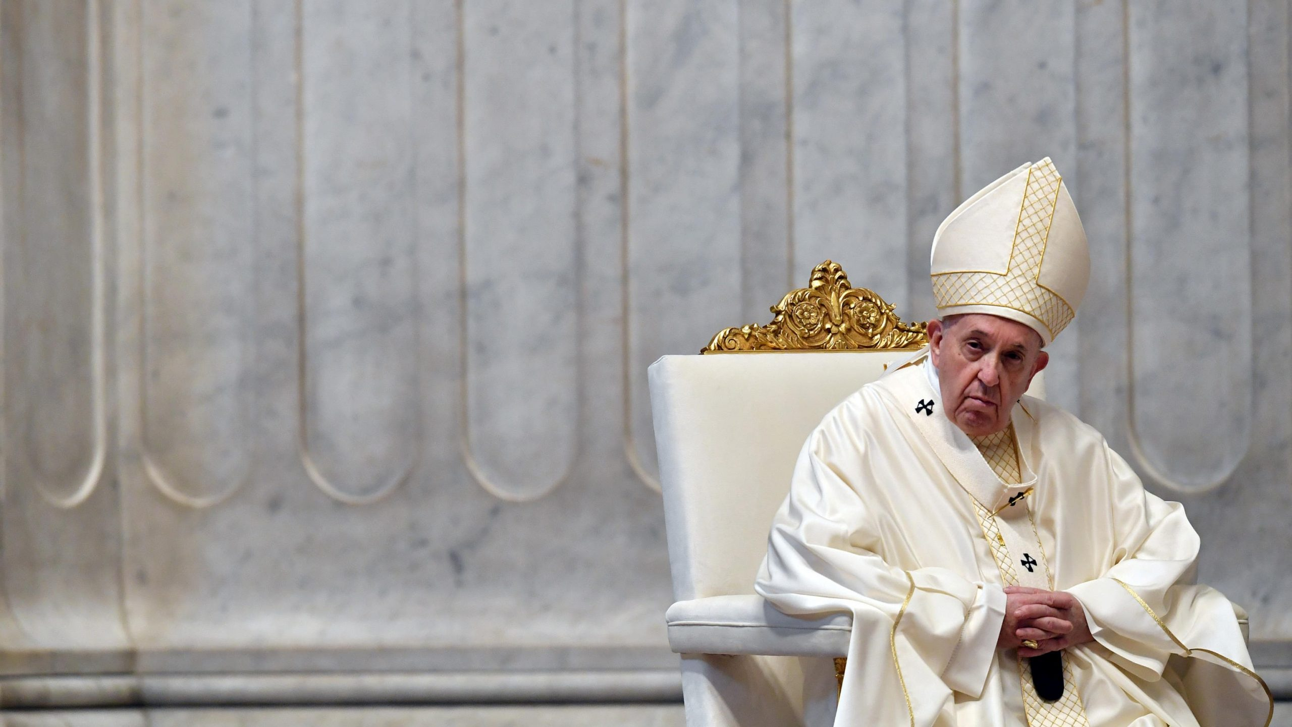 Pope Francis' homily for Holy Thursday