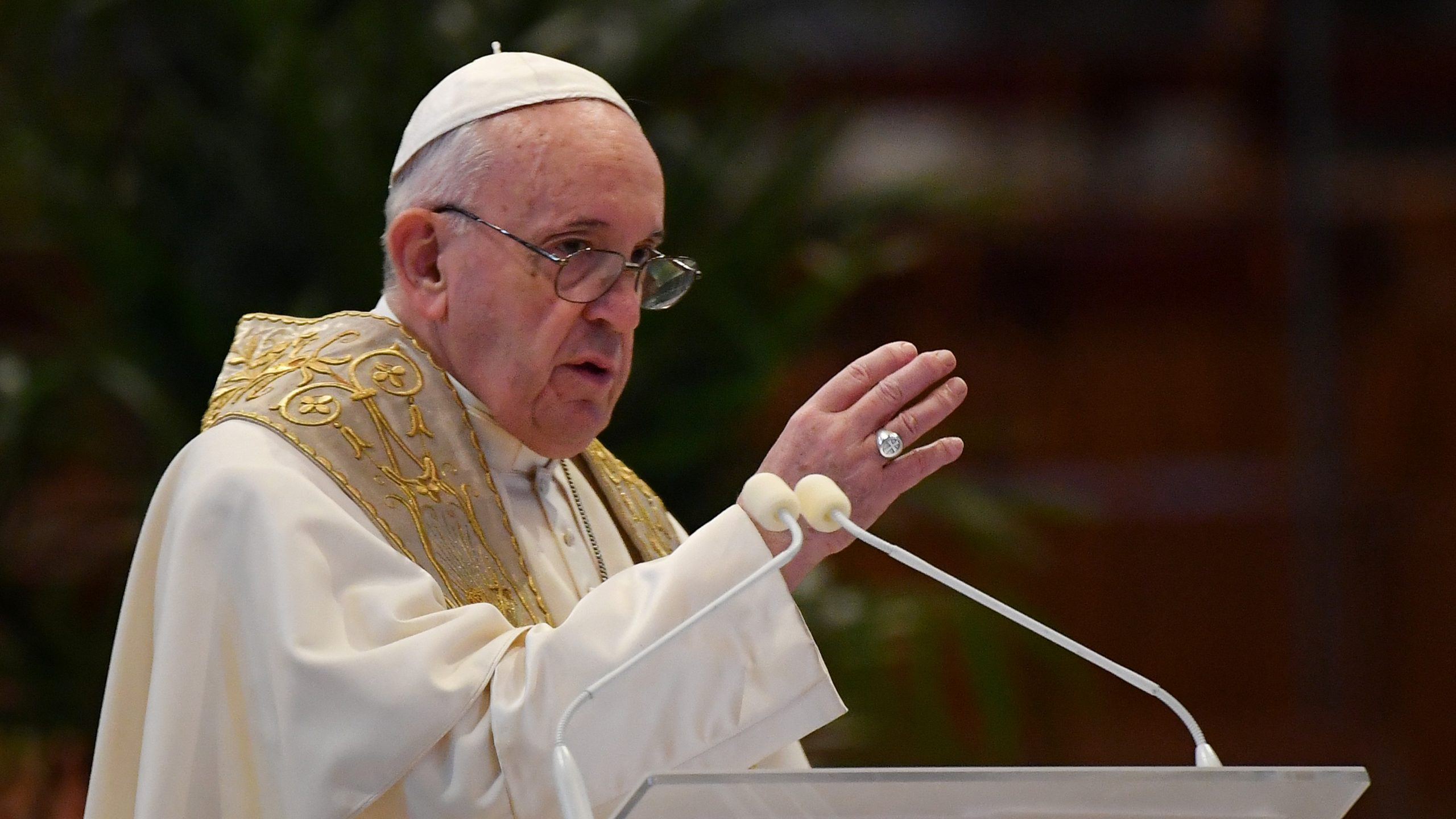Urbi et Orbi message for Easter Sunday from Pope Francis