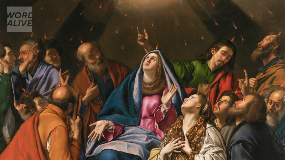 Word Alive: Pentecost reminds us that we cannot be Christians alone