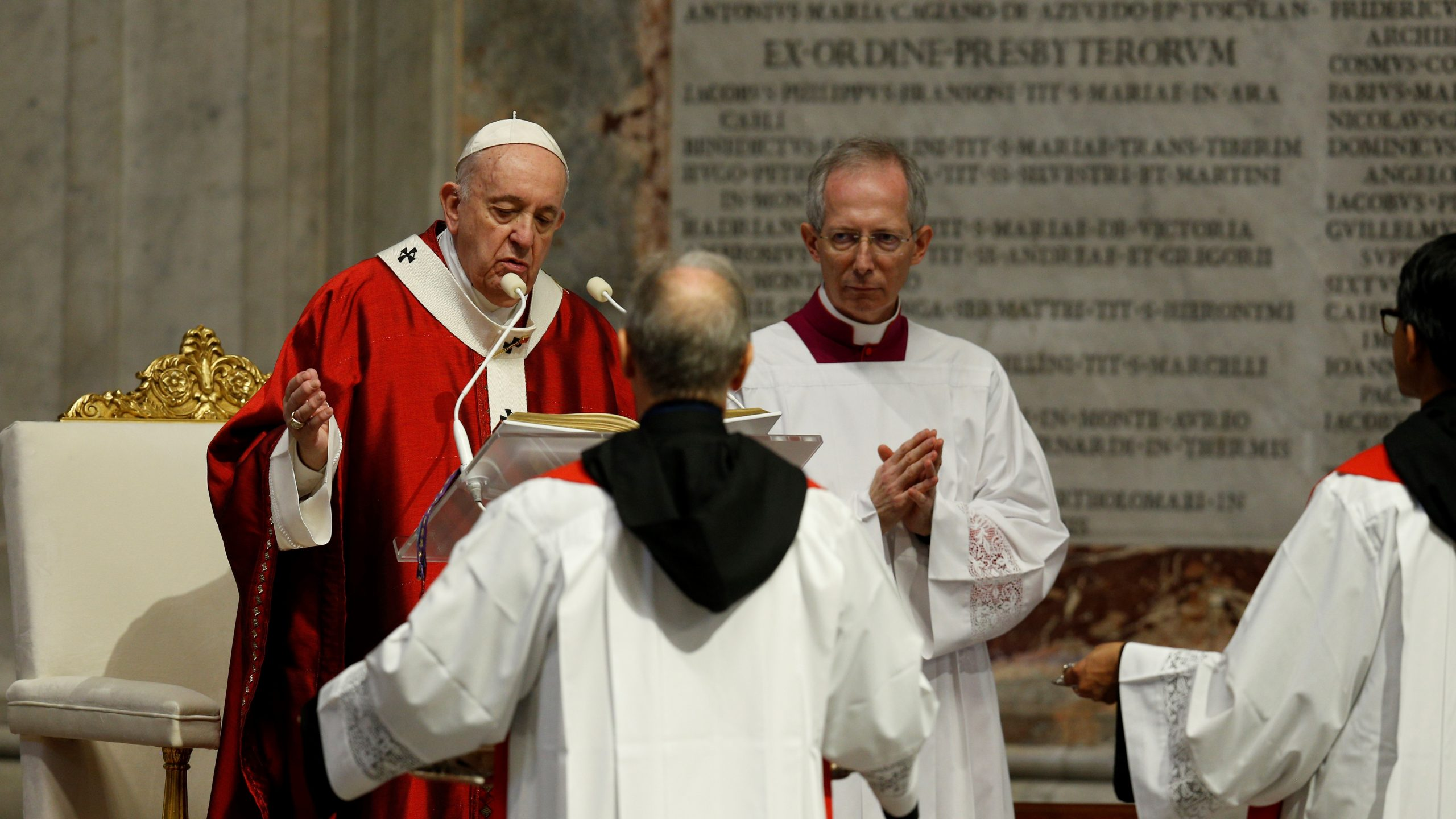 Pope Francis' homily for the Solemnity of Saints Peter and Paul