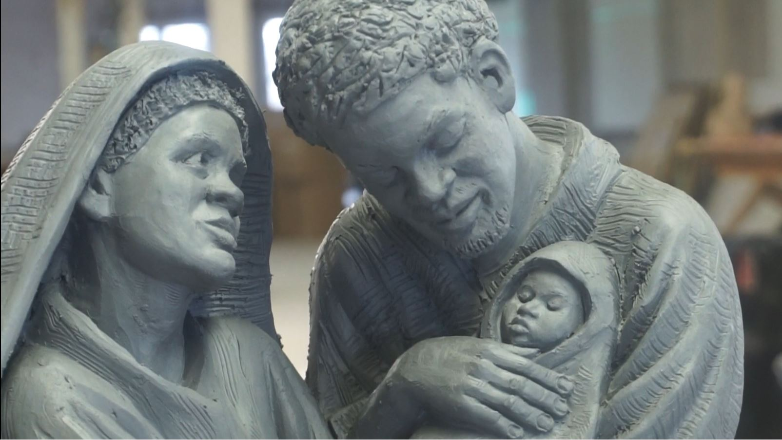 Canadian sculptor puts Black lives into Catholic art