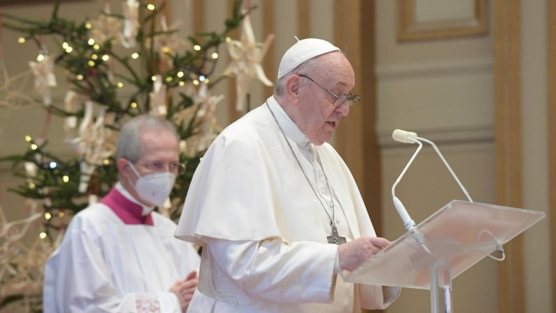 Urbi et Orbi message for Christmas 2020 from Pope Francis