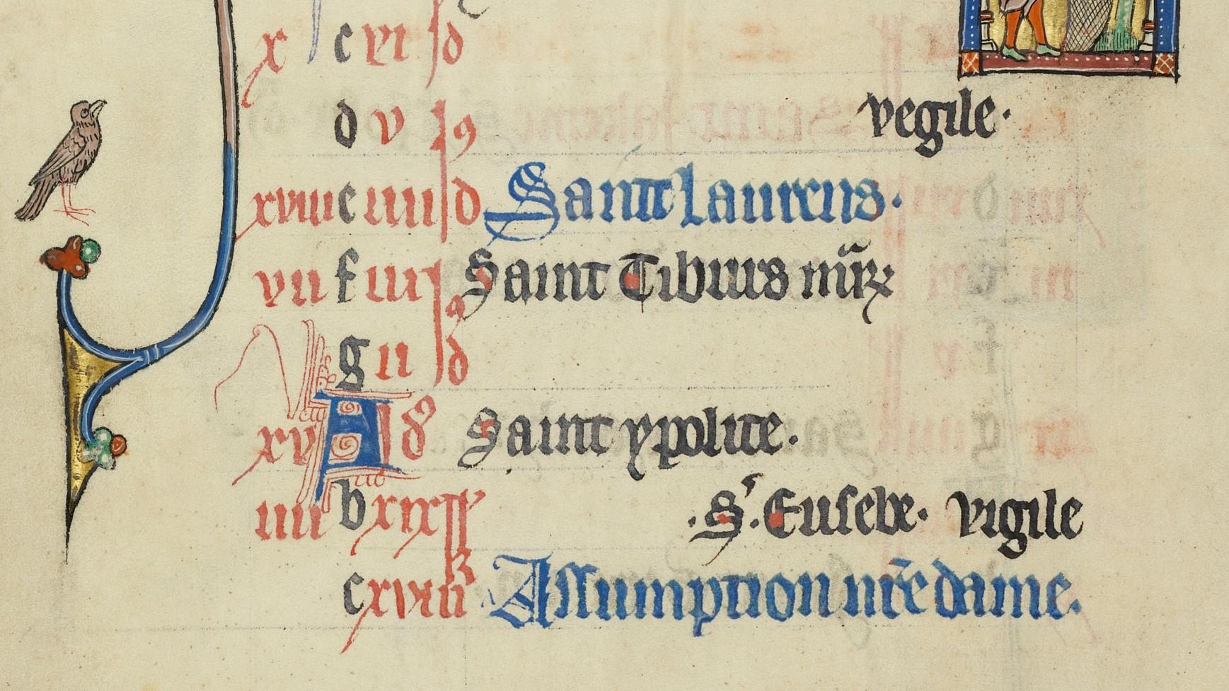 Deacon-structing Solemnities, Feasts, and Memorials