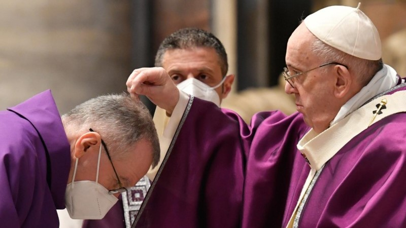 Pope Francis' homily for Ash Wednesday 2021