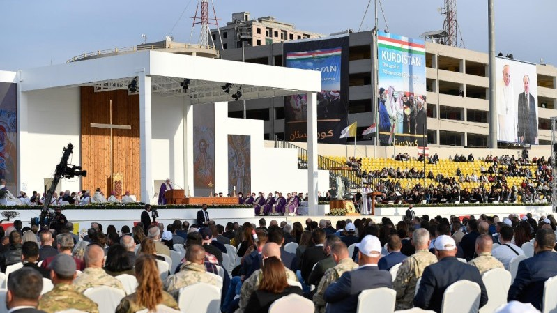 Pope Francis in Iraq: Holy Mass in Erbil