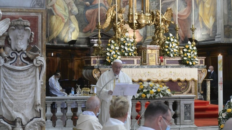 Pope Francis' homily for Divine Mercy Sunday