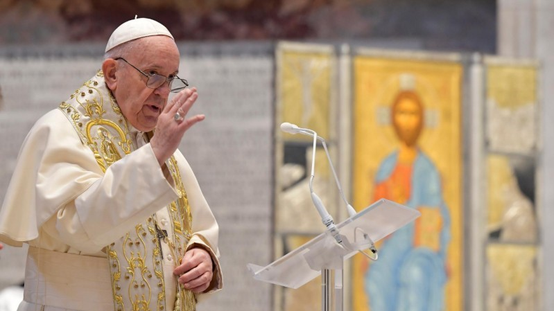 Pope Francis' Urbi et Orbi message for Easter 2021
