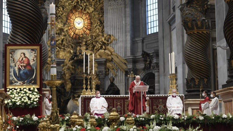 Pope Francis' homily for Pentecost 2021