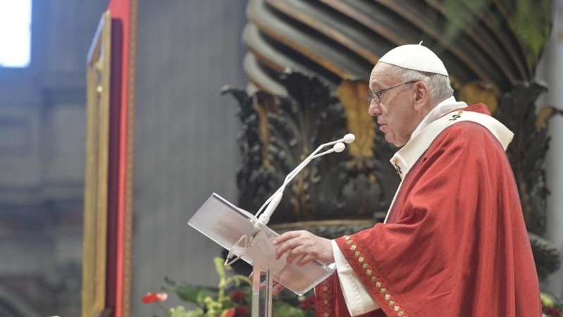 Pope Francis' homily for the Solemnity of SS. Peter and Paul 2021