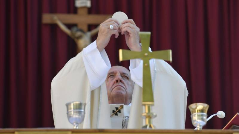 Pope Francis' homily for Corpus Christi 2021