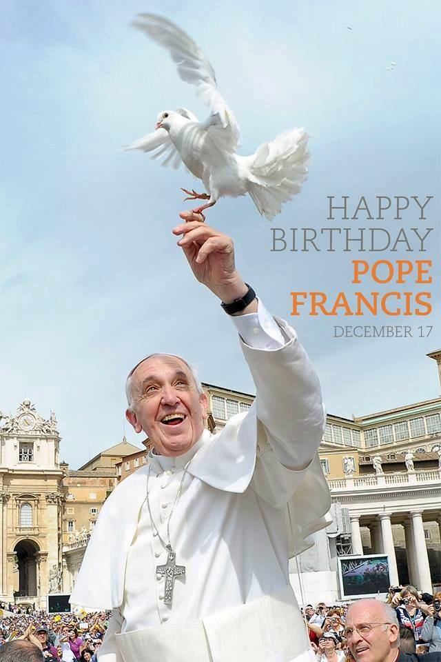 Pope Francis Birthday