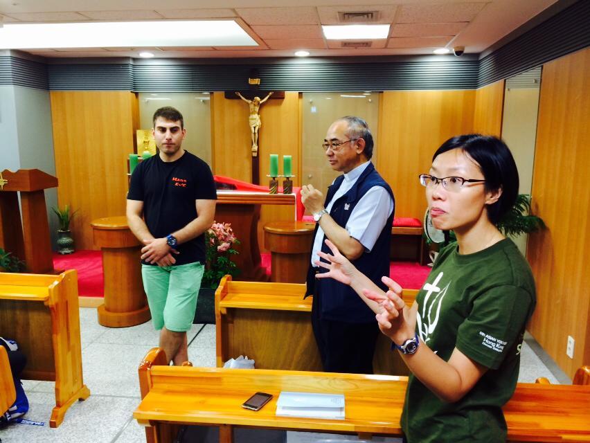 德國埃森教區青年代表加入香港團