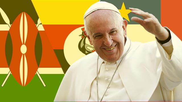 Apostolic visit to Africa 2015