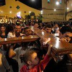 巴基斯坦費薩拉巴德舉十字架巡遊慶祝世青節