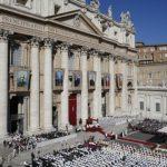 教宗冊封7位新聖人:祈禱不為打贏戰爭,而為贏得和平