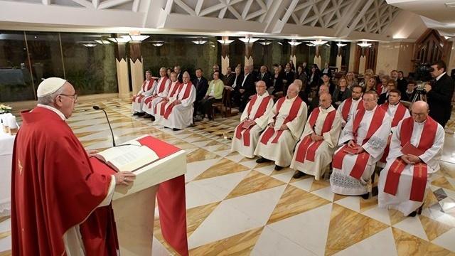 教宗:好牧人雖然孤獨卻有上主陪伴