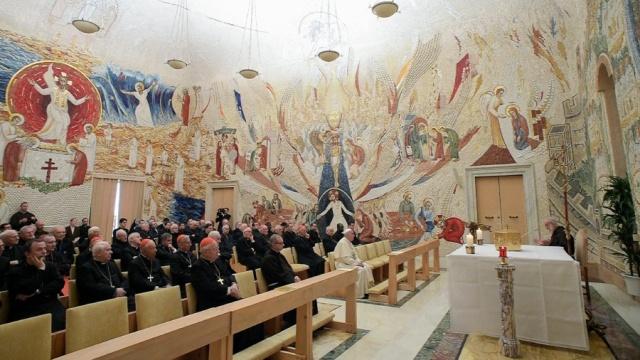 教宗府將臨期默想:「飲用、節制和聖神的陶醉」(一)