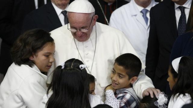 教宗致電慰問熱那亞兒科醫院病童