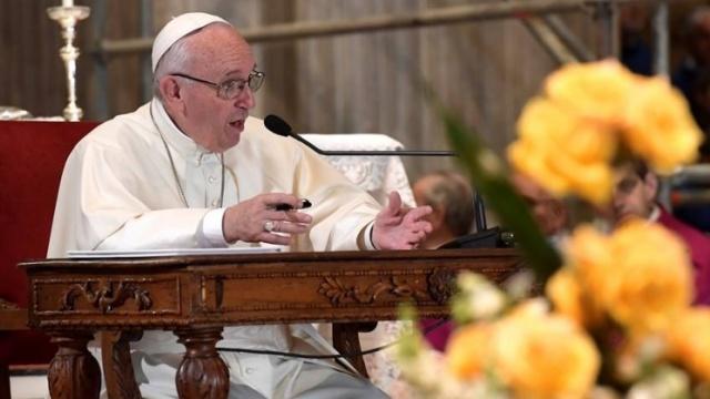教宗會晤熱那亞教區青年