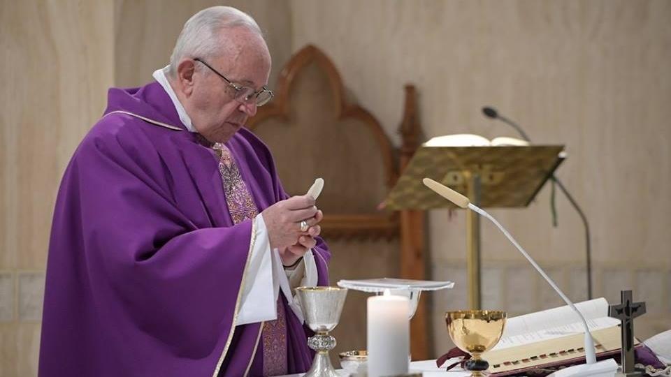 教宗:不要成為停滯不前的基督徒