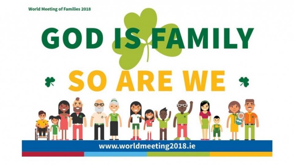教宗將到訪愛爾蘭出席世界家庭會議2018