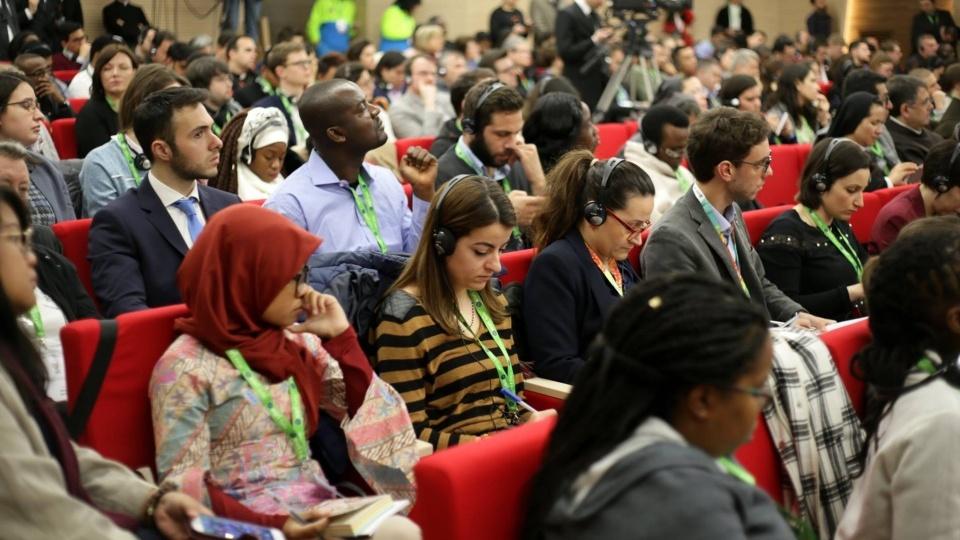 錄音訪問:梵蒂岡電台專訪世界主教會議會前會議華人與會青年