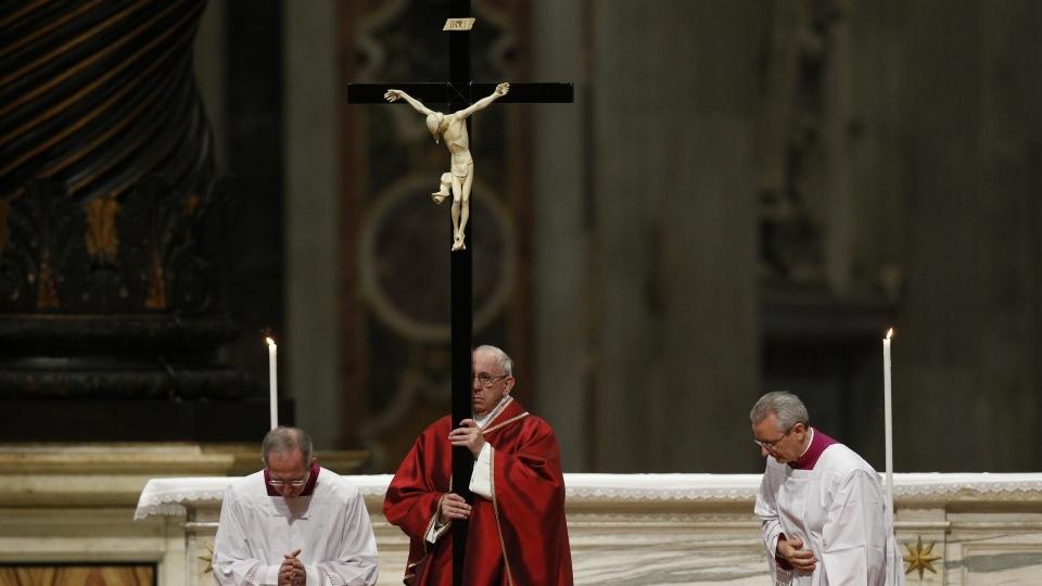 梵蒂岡耶穌受難日紀念禮儀講道