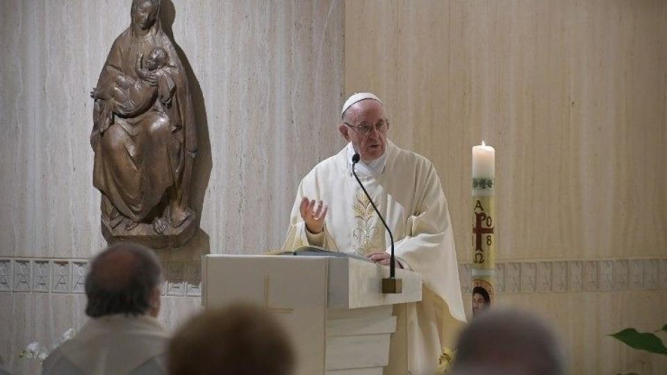 教宗:在復活喜悅中獲得服從、見證和具體務實