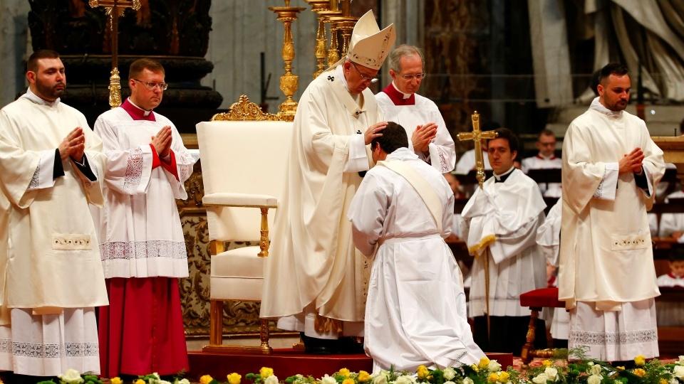 教宗祝聖新司鐸:你們應堅持不懈地慈悲待人