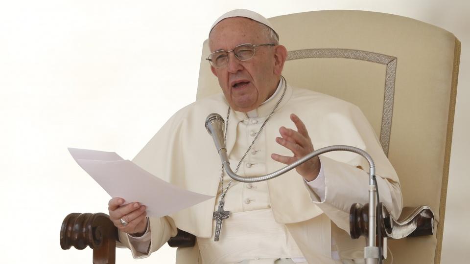 教宗公開接見:洗禮賜給我們與邪惡搏鬥的力量